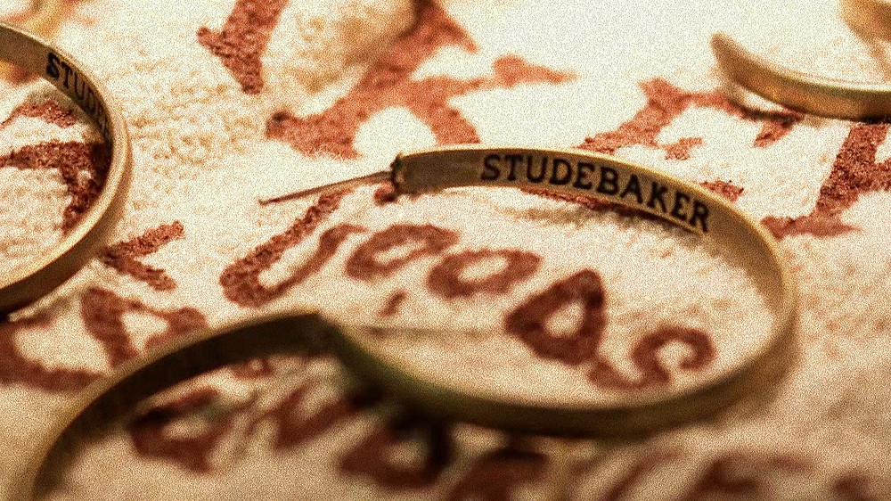 Studebaker Metals Lodge Hoops   Brass Work Patina