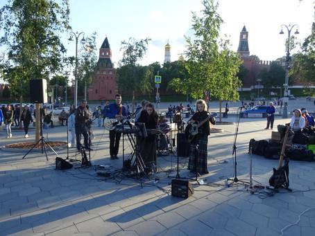 Евангелизация в парке Зарядье. Москва