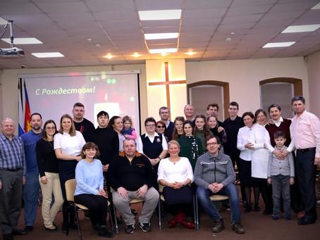 Выступление в церкви Армия Спасения