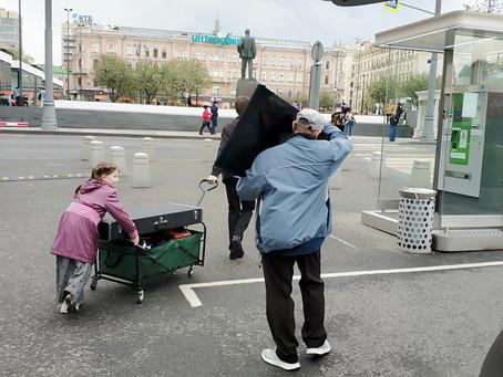 Евангелизация на Триумфальной площади. Москва