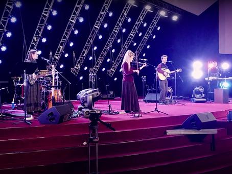 Рождественский концерт для друзей в церкви Благая Весть