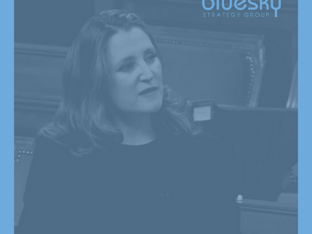 BLUESKY BRIEF - Freeland's Fall Fiscal Update