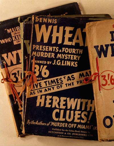 The Crime Dossiers (1936-1939, Dennis Wheatley, J.G. Links)