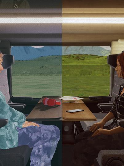 Les Passagers (Elle & Lui) (2020, Ziad Touma)