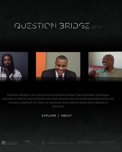 Question Bridge (2012, Hank Willis Thomas, Bayeté Ross Smith, Kamal Sinclair, Chris Johnson)