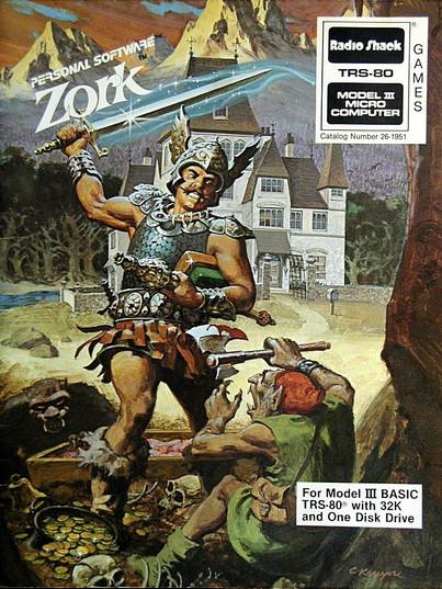 Zork (1977. Tim Anderson, Marc Blank, Bruce Daniels & Dave Lebling)