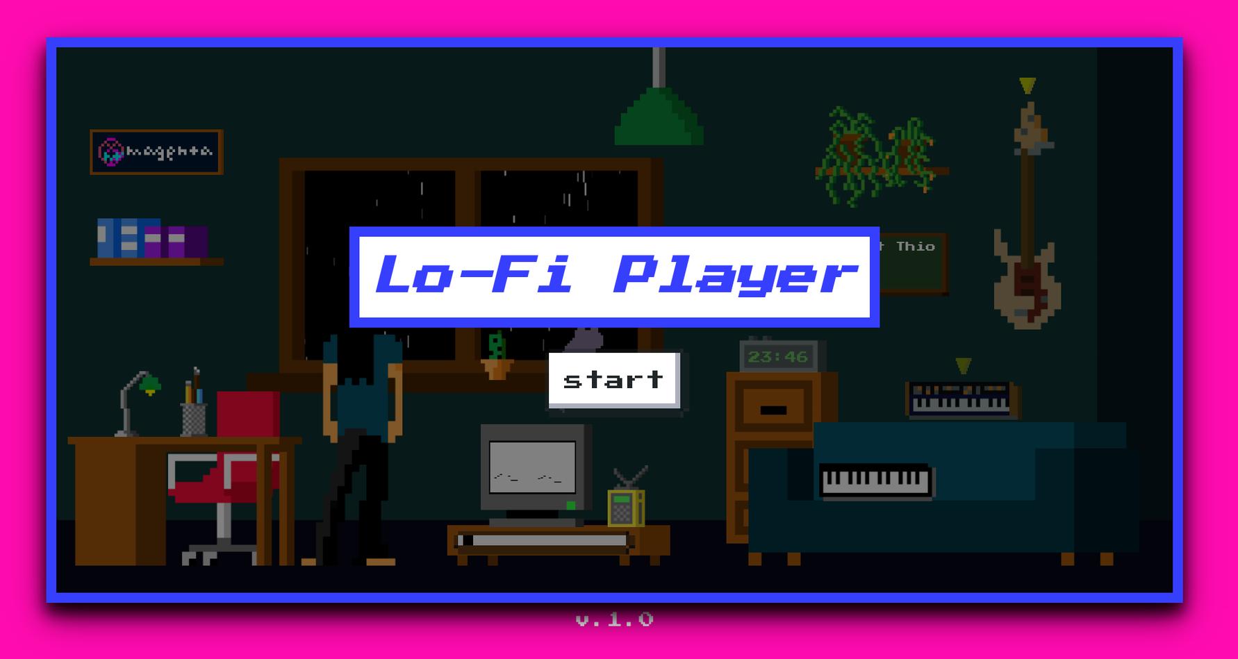 Lo-Fi Player (2020, Vibert Thio)