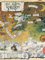 Steve Jackson's Sorcery! (1983-1985, Steve Jackson)