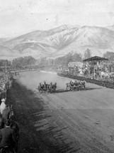 Rose Bowl Tournament Newsreel (1906)