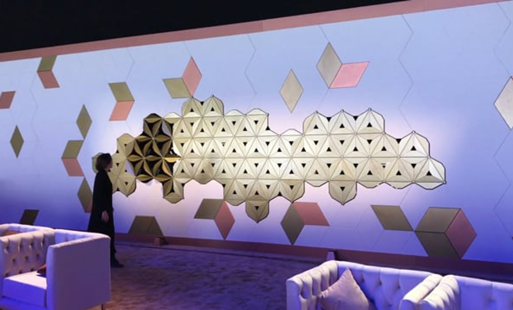 Al-Ula Kinetic Wall (2018, Leva)