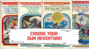 Choose Your Own Adventure (1979-1998, Bantam Books)