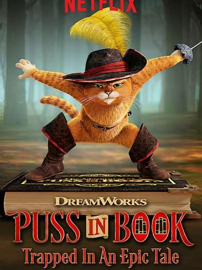 Puss In Book (2017, Netflix)