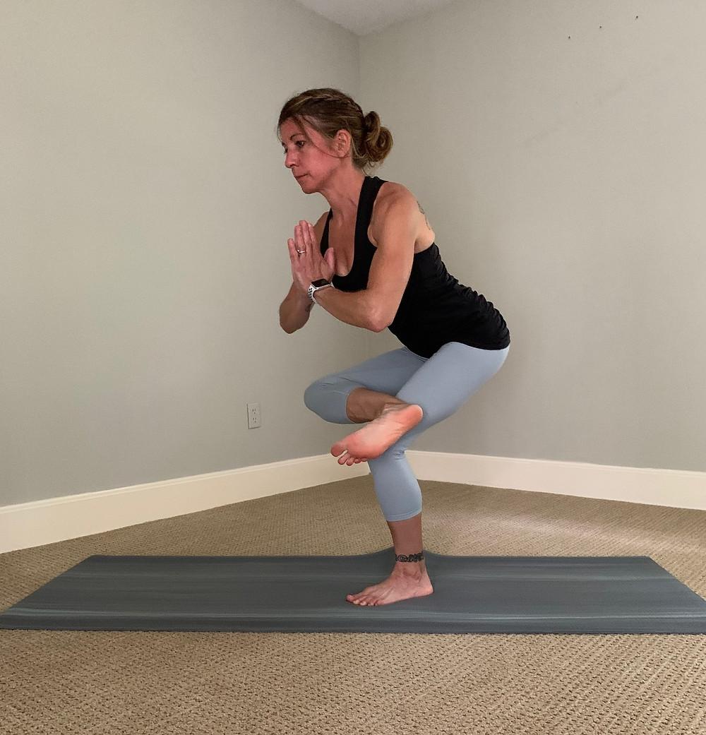 outer hip stretch