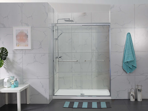 SS06-Frameless Sliding Shower Door