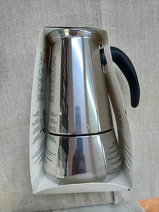 Cafetera acero  6 tazas