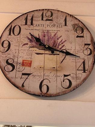 Reloj lavanda