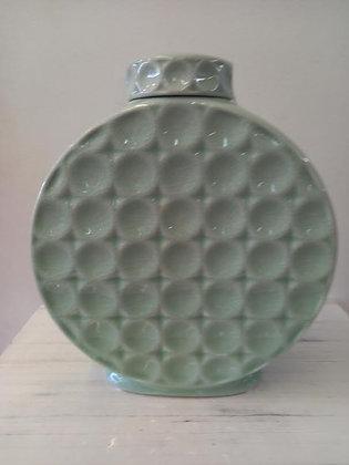 Tibor redondo verde agua