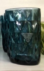 Set 6 vasos azules