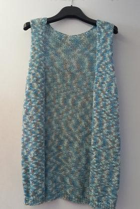 Chaleco tonos azules 5773