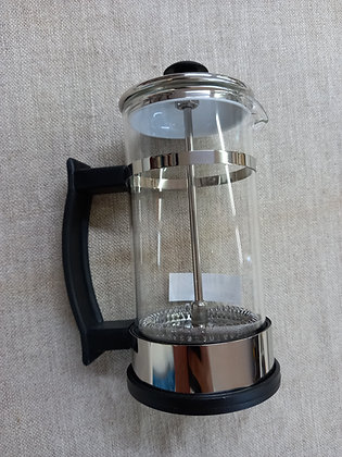 Cafetera embolo acero