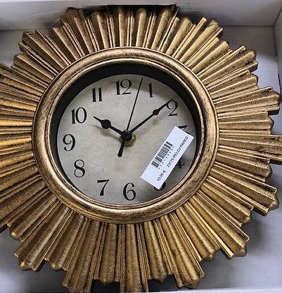 Reloj resina dorado