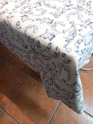 Mantel 1.50 X2,80 estampado gris