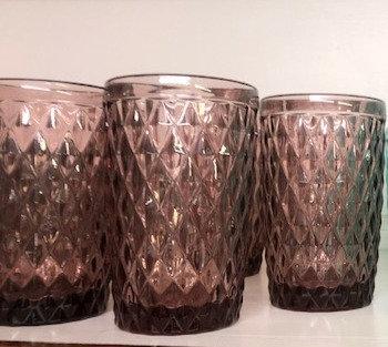 Set 6 vasos rosa