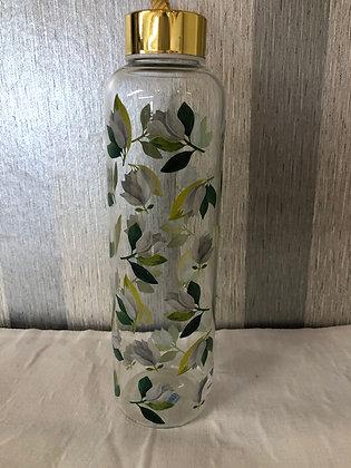 Botella cristal magnolia