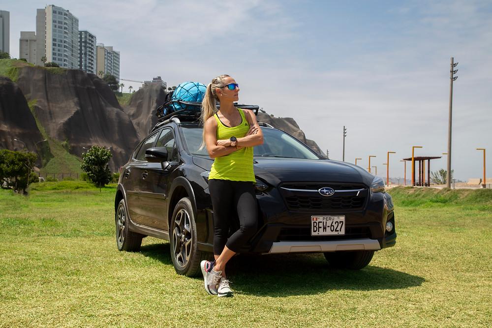 Viajando con Subaru