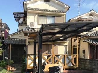 京都の郊外で生活に便利な立地、気に入っていましたが沖縄移住の夢が叶ったので売却することにしました