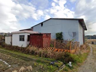 ビオトープと倉庫があります、新築はできませんが資材置場や家庭菜園にどうぞ