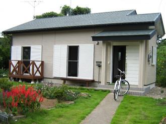 茨城の中古の一軒家、所々傷んでいます