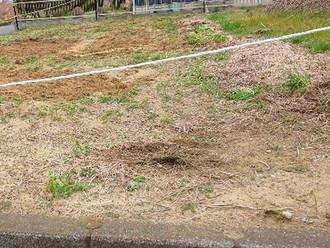 家庭菜園を行っていた土地、どなたか有効活用してください