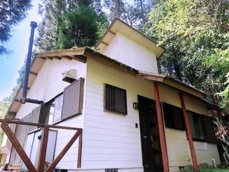 薪ストーブ付きの由布院の別荘、避暑地で夏は涼しいです