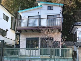 別荘として使用していた家、建物の劣化はあまりありません、賃貸中です