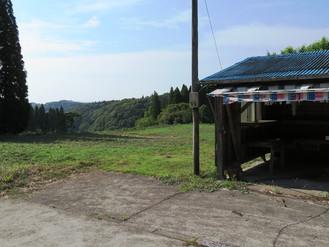 鹿児島市の郊外のいちご売り場だった畑を売ります