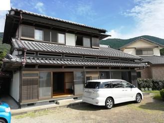 熊野古道エリアの移住者に程よい面積のミカン畑付きの家、大工だった父がこだわって建てた家を売ります