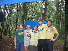 Camp DREAM's first (paid) counselors in 2003!