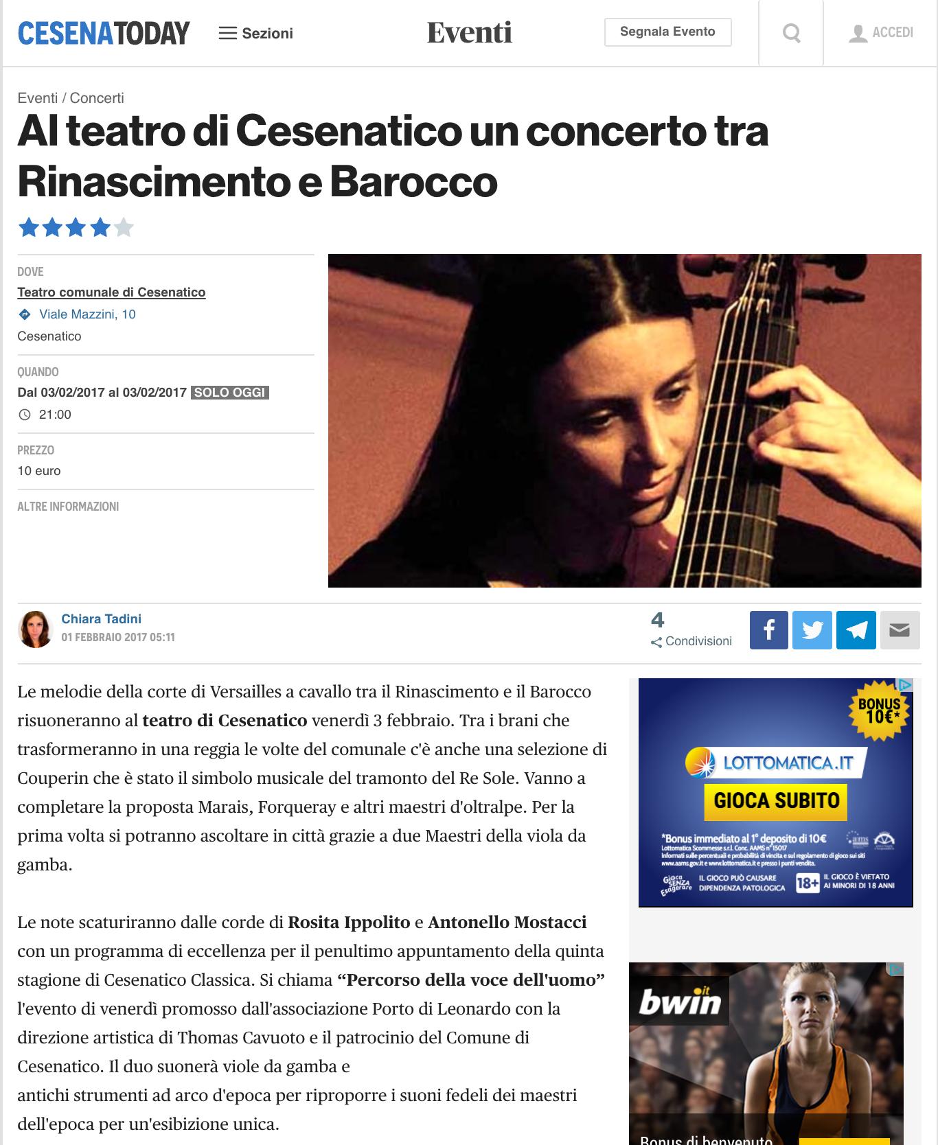 Cesenatico Classica (V Edizione)2017