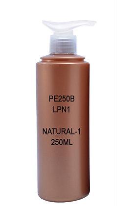 Sample HDPE 250 Brown - Pump Natural 1