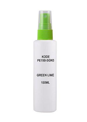 Sample HDPE 150ml - Sprayer Green Lime