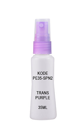 Sample HDPE 35ml Mist Sprayer-Trans Purple