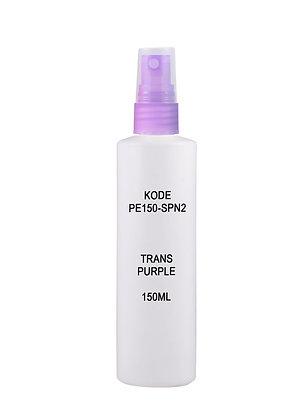 Sample HDPE 150ml - Sprayer Trans Purple