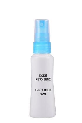 Sample HDPE 35ml Mist Sprayer-Light Blue