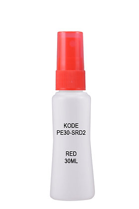 HDPE 35ml Mist Sprayer-Red