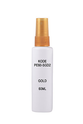 HDPE 60ml Mist Sprayer-Gold