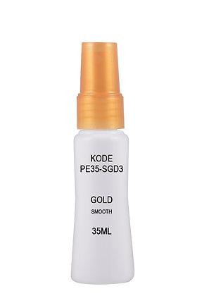 Sample HDPE 35ml Mist Sprayer-Gold Smooth