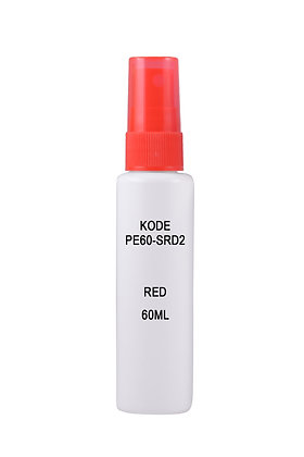 Sample HDPE 60ml-Sprayer Red