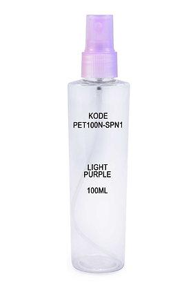 Sample PET 100ml Mist Sprayer Light Purple