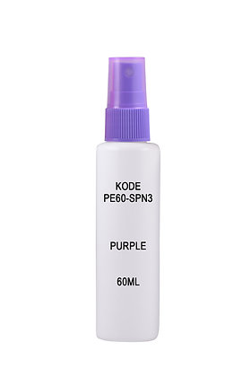 Sample HDPE 60ml-Sprayer Purple